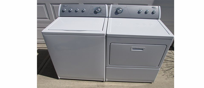 Free washer and dryer!